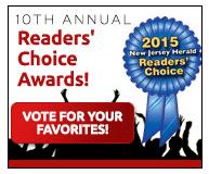 RPoust Reader's Choice Award - New Jersey Herald